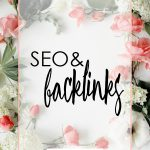 SEO and backlinks and how to get noticed on the web