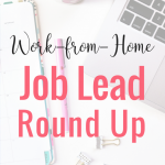 WORK-FROM-HOME JOB LEAD ROUND UP 13