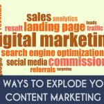 55 Ways To Explode Your Content Marketing [Infographic]