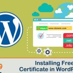 How can I add a Free SSL certificate to my WordPress site?