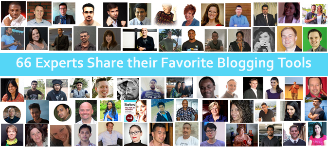 Roundup 66 Experts on Blogging Tools