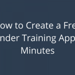 How to Create a Free Bartender Training App in 15 Minutes