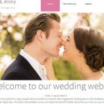 How to create a beautiful wedding website in 3 easy steps
