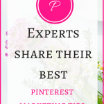 7 Experts Share their Best Pinterest Marketing Tips [for Beginners]