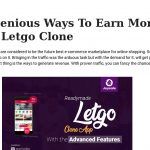 7 Ingenious Ways To Earn More With Letgo Clone